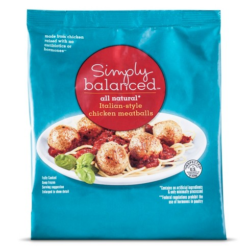 Italian-style Chicken Meatballs -20oz - Simply Balanced™ - image 1 of 1