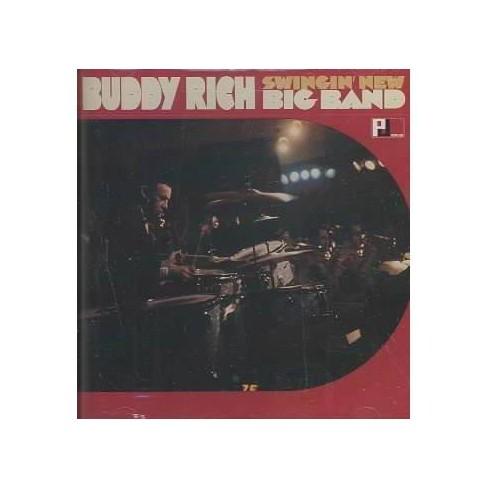 Buddy Rich - Swingin New Big Band (CD) - image 1 of 1