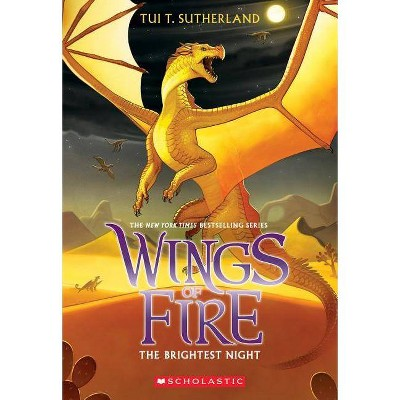 The Brightest Night (Wings of Fire #5), 5 - by  Tui T Sutherland (Paperback)