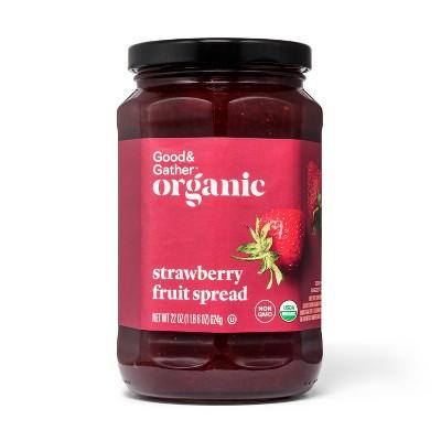 Organic Strawberry Fruit Spread - 22oz - Good & Gather™