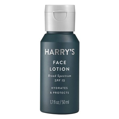 Facial Moisturizer: Harry's Face Lotion
