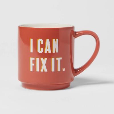 16oz Stoneware I Can Fix It Mug - Room Essentials™