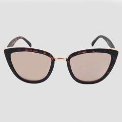 Women's Cateye Tort Sunglasses - Wild Fable™ Brown