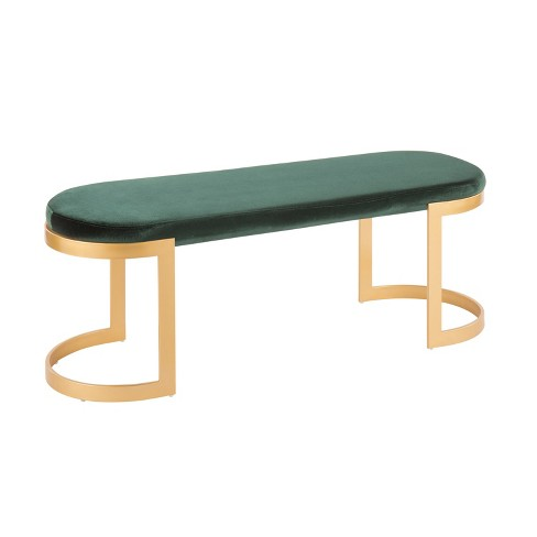 Demi Contemporary Glam Bench - LumiSource - image 1 of 6