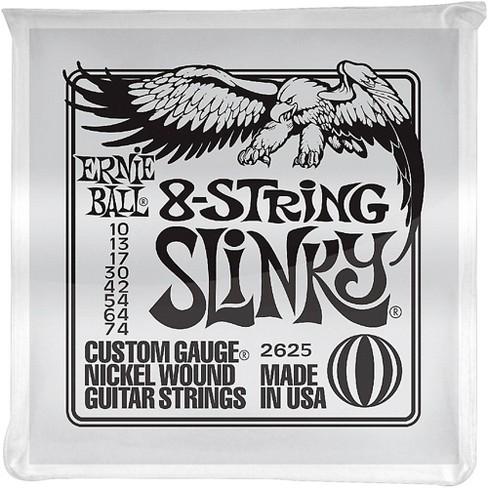 Ernie Ball 8-String Slinky Electric Guitar Strings 10-74 - image 1 of 2