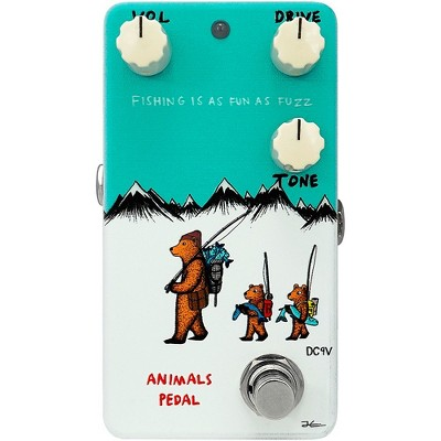 Animals Pedal Fishing Is As Fun As Fuzz V2 Effects Pedal White