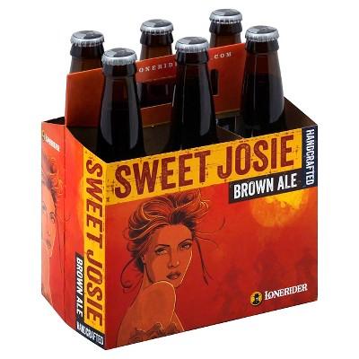 Lonerider Sweet Josie Brown Ale Beer - 6pk/12 fl oz Bottles