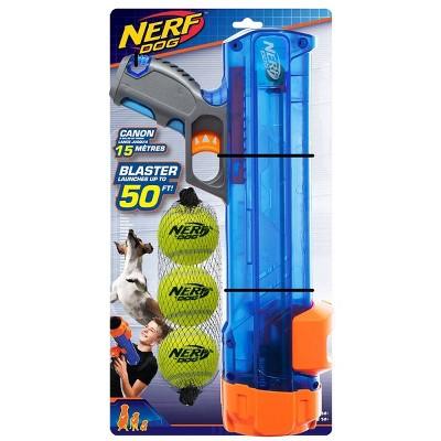 NERF Blaster and Tennis Ball - 3pk