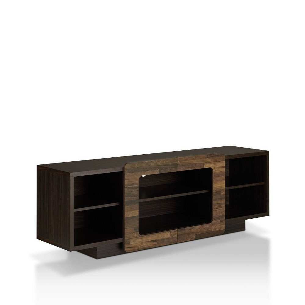 """Image of """"63"""""""" Dimanche TV Stand Dark Wenge - HOMES: Inside + Out, Brown"""""""