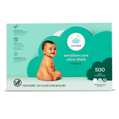 Baby Wipes - 500ct - Cloud Island™