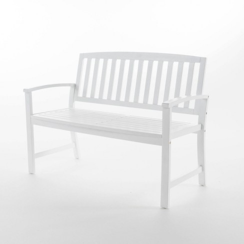 Loja Acacia Wood Bench - Christopher Knight Home - image 1 of 4