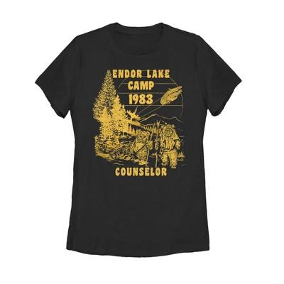 Women's Star Wars Endor Lake Ewok Counselor T-Shirt