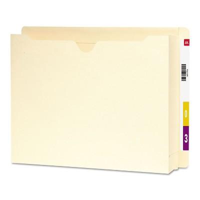 "Smead End Tab File Jacket 2"" Accordion Expansion 12 3/8 x 9 1/2 14 Pt. Mla 25/Box 76910"