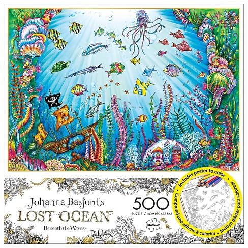 Buffalo Games JB Beneath The Waves Jigsaw Puzzle 500pc - image 1 of 1