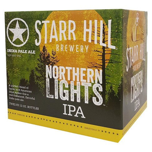 Starr Hill® Northern Lights IPA - 12pk / 12oz Bottles - image 1 of 1