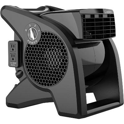 Lasko U15617 Pro Performance 3 Speed Pivoting Home Garage Utility Floor Drying Fan