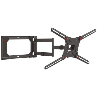 """Barkan 13"""" - 80"""" 4-Movement Patented to Fit Various Screen Types Flat / Curved TV Wall Mount - Black"""