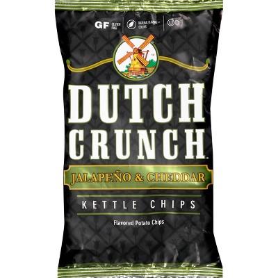 Old Dutch - Dutch Crunch Jalapeno & Cheddar Kettle Potato Chips - 9oz
