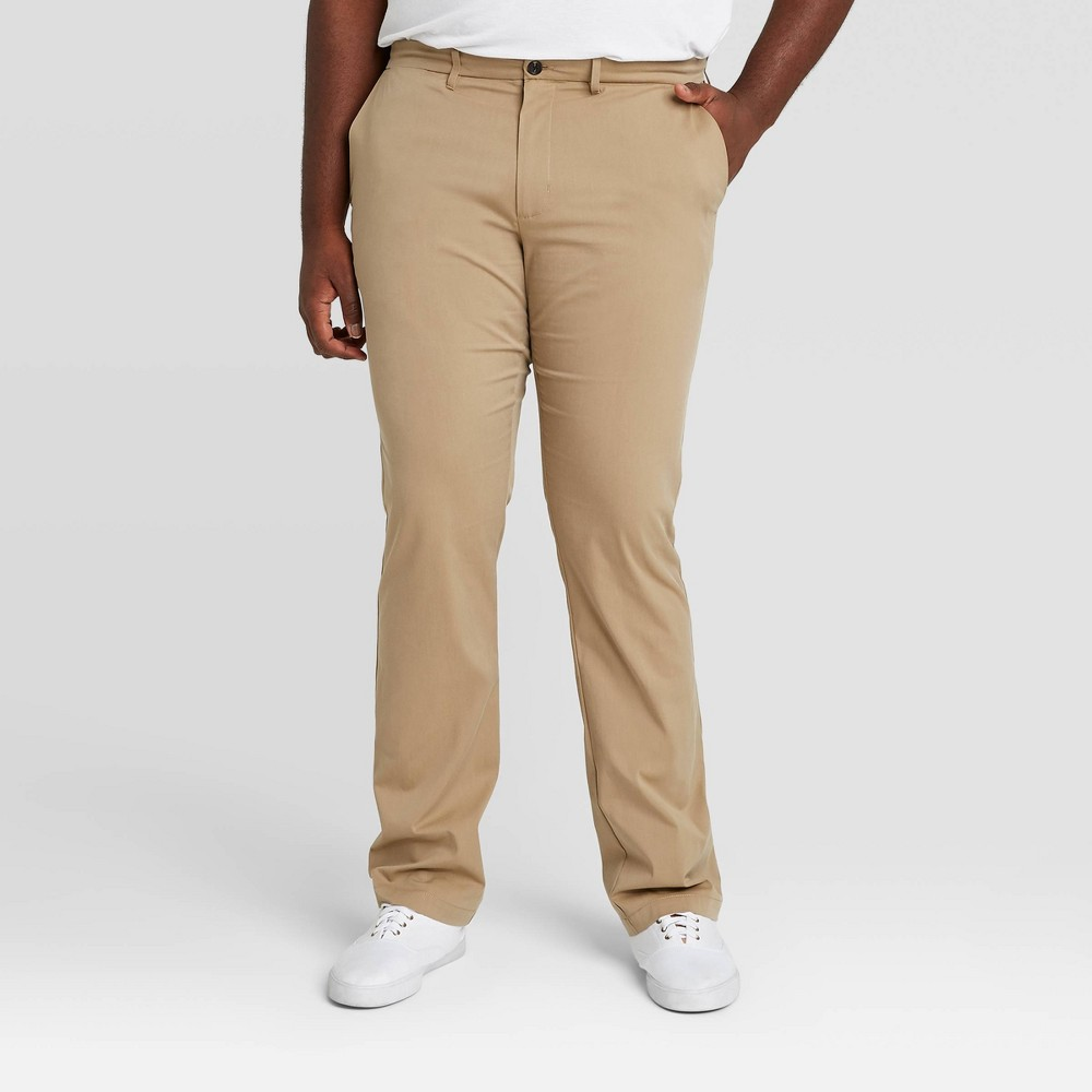 Promos Men's Big & Tall Straight Fit Hennepin Tech Chino Pants - Goodfellow & Co™