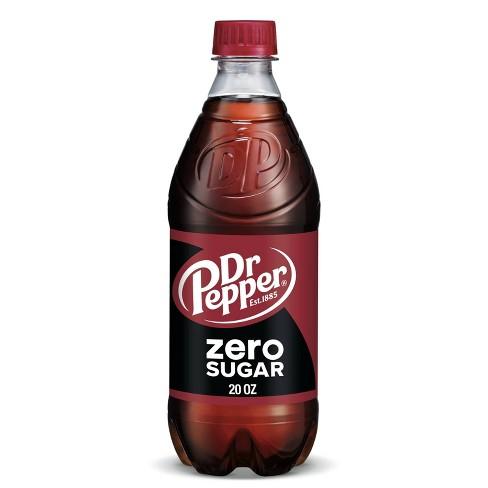 Dr Pepper Zero Sugar - 20 fl oz Bottle - image 1 of 4
