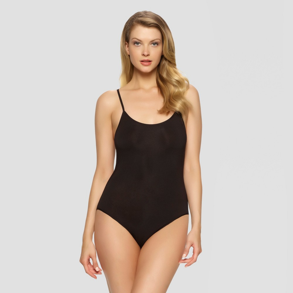 Jezebel Women's Spaghetti Strap Bodysuit - Black XL