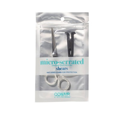 """Conair Cararra Marble Shears with Safety Blade Cover - 5 1/2"""""""