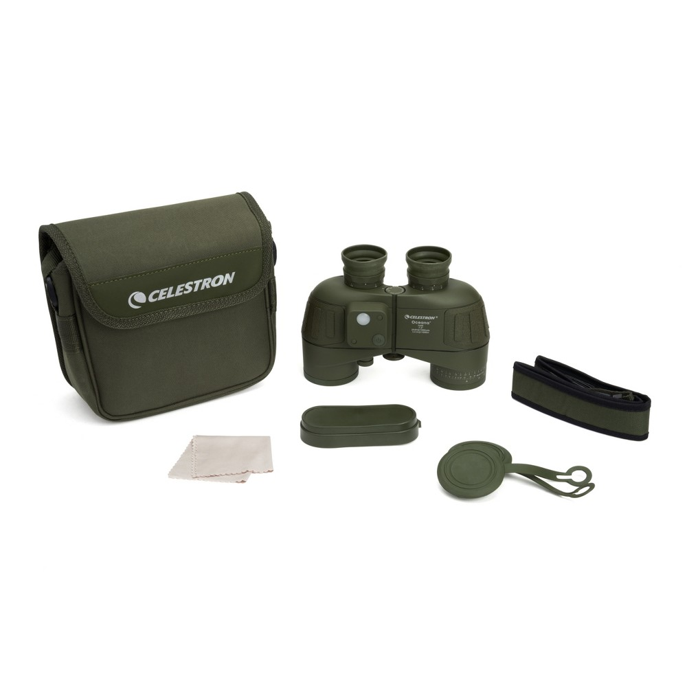 Image of Celestron Oceana 7x50 Zoom Military/Camouflage Binoculars - Olive
