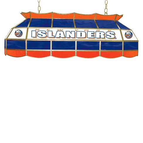 New York Islanders Stained Glass Lighting Fixture - 40 inch - image 1 of 1