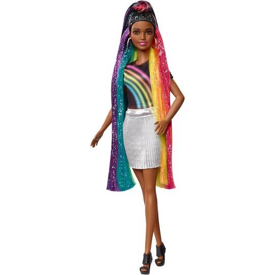 Barbie Rainbow Sparkle Hair Nikki Doll image number null