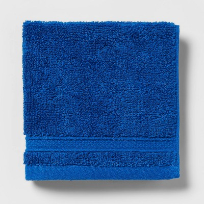 Soft Solid Washcloth Bright Blue - Opalhouse™