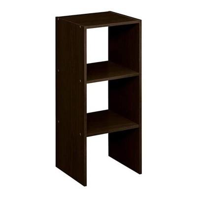 ClosetMaid 895600 Decorative Home Stackable 2-Cube Organizer Storage 31-Inch, Espresso (2 Pack)