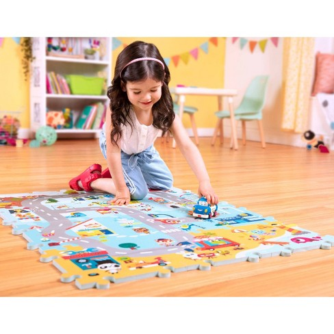Land Of B Foam Floor Puzzle Whimsy Land 12pc Target