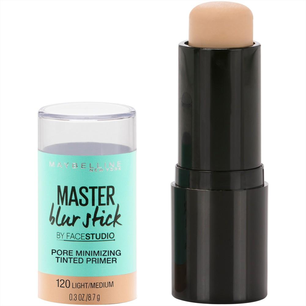 Maybelline Facestudio Master Blur Stick Primer 120 Light/Medium - 0.3oz