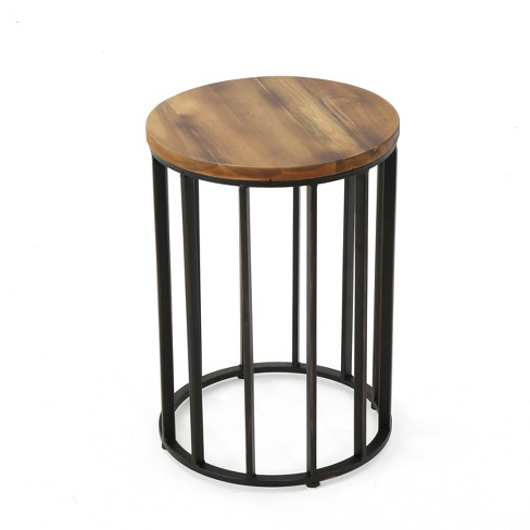 """Canary 15"""" Acacia Side Table - Antique - Christopher Knight Home - image 1 of 4"""