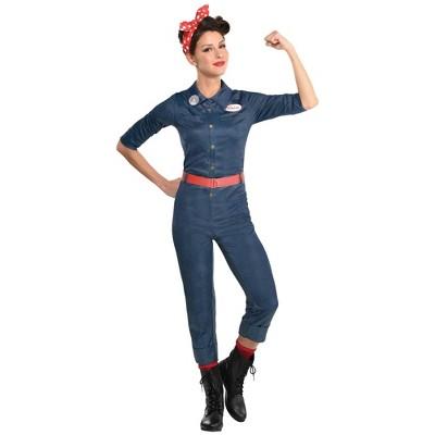 Adult Rosie the Riveter Halloween Costume