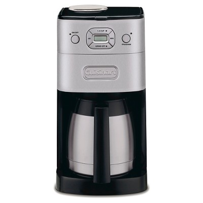 Cuisinart® Grind & Brew 10 Cup Automatic Coffee Maker - Brushed Chrome DGB-650BC