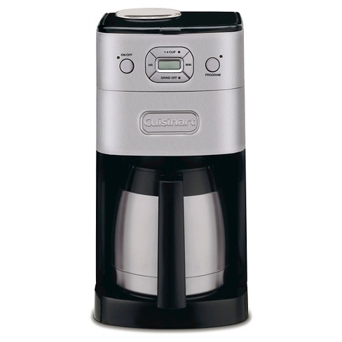 Cuisinart® Grind & Brew 10 Cup Automatic Coffee Maker - Brushed Chrome DGB-650BC - image 1 of 6