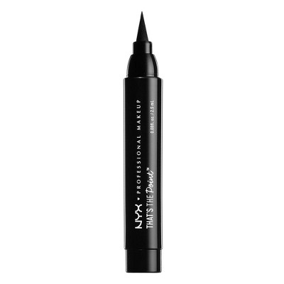 NYX Professional Makeup That's The Point Eyeliner - Put A Wing On It - 0.08 fl oz