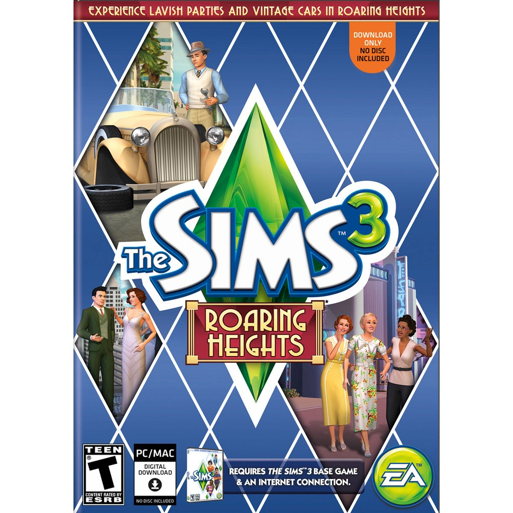 The Sims 3 Roaring Heights Pc Game Digital