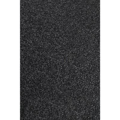 "1'6""x2'6"" Rectangle Floor Mat Black - MotionTex"