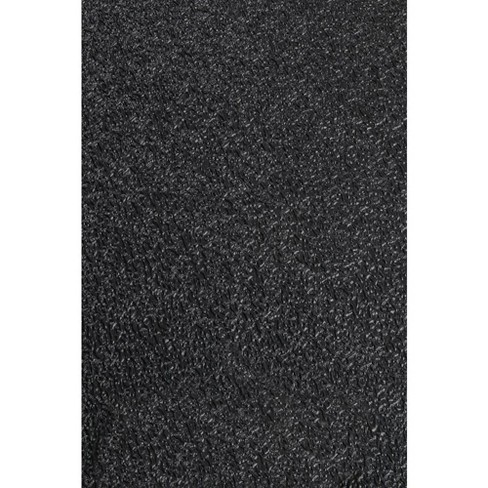 MotionTex 66 x 30 Inch Recycled PVC Antimicrobial Fitness Equipment Mat, Black - image 1 of 4