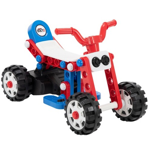 Huffy 6V 3-in-1 Boltz Quad Powered Ride-On - image 1 of 4