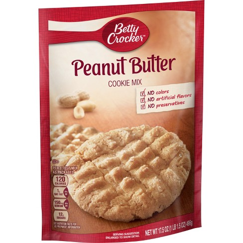 Betty Crocker Peanut Butter Cookie Mix 17 5oz