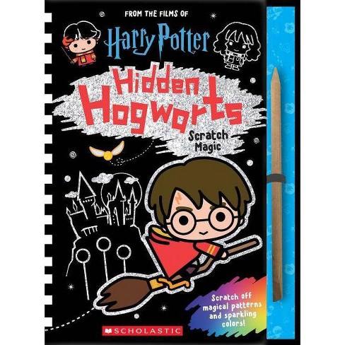 Hidden Hogwarts : Scratch Magic -  (Harry Potter) (Hardcover) - image 1 of 1