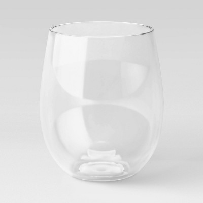 18oz Plastic Stemless Wine Glass - Threshold™