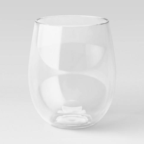 18oz Plastic Stemless Wine Glass - Threshold™ - image 1 of 2