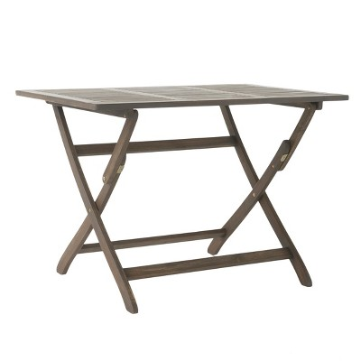 Positano Rectangle Acacia Wood Foldable Dining Table - Christopher Knight Home