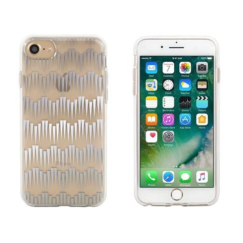 98536e0eb19 End Scene Apple IPhone 8/7/6s/6 Case - Deco Silver Geo : Target