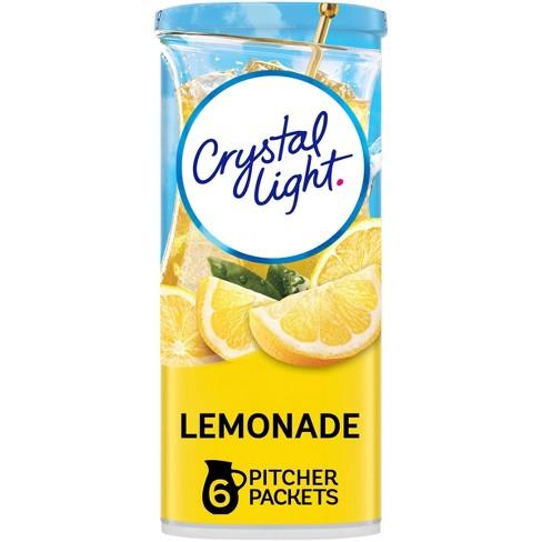 Crystal Light Natural Lemonade Drink Mix - 6pk/3.2oz - image 1 of 4