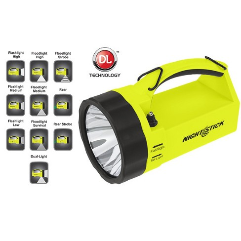 Nightstick VIRIBUS Lantern Rechargeable Yellow 210 Lumens - image 1 of 1